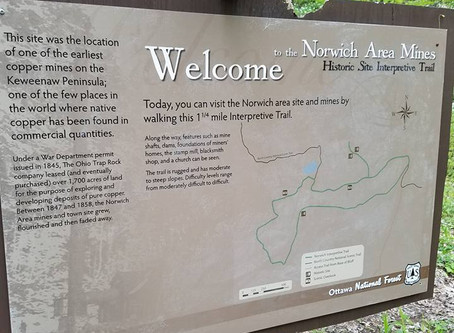 A quick weekend trip to the Ottawa National Forest in Michigan's Upper Peninsula