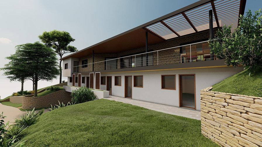 perspective villa
