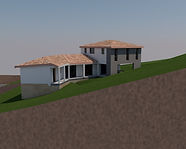 Villa contemporaine 3d