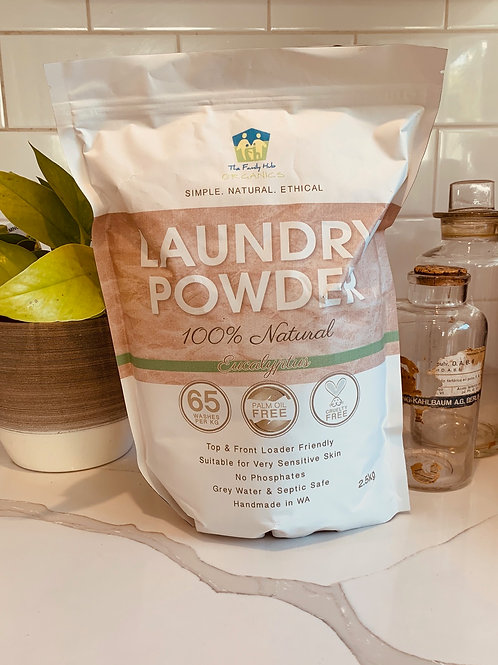 All Natural Laundry Powder 2.5kg