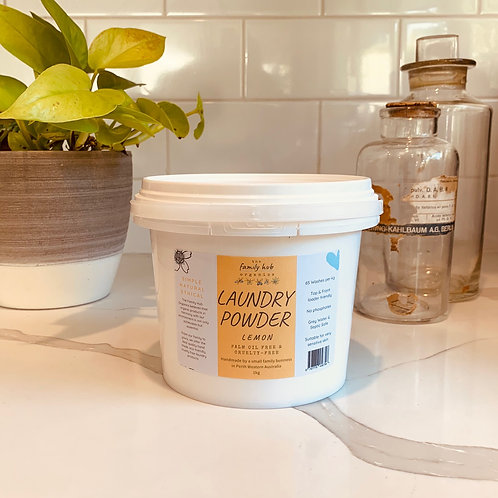 All Natural Laundry Powder 1kg