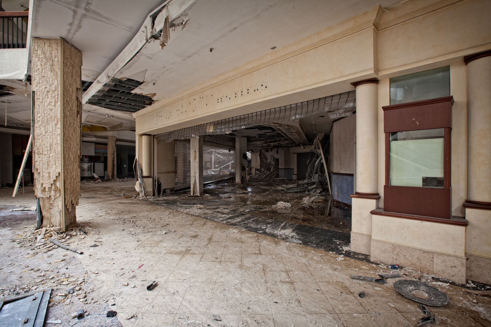 Randall Park Mall | Smashed Storefront