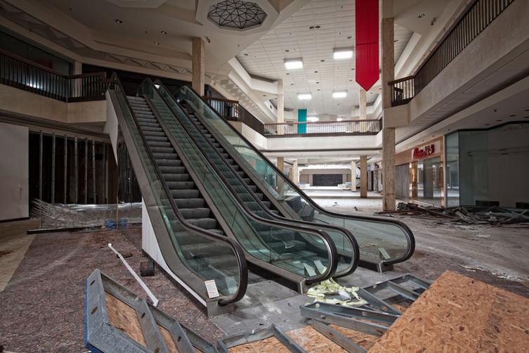Randall Park Mall | Escalator Ascent
