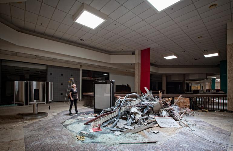 Randall Park Mall | Dwarfed By Debris