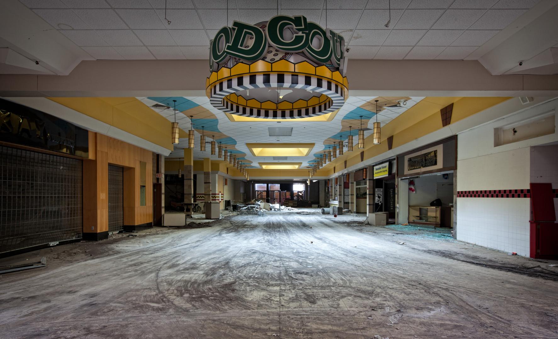 Randall Park Mall _ Food Court