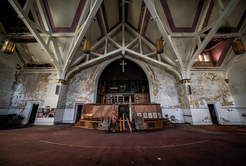 Abandoned Church Photo Workshop