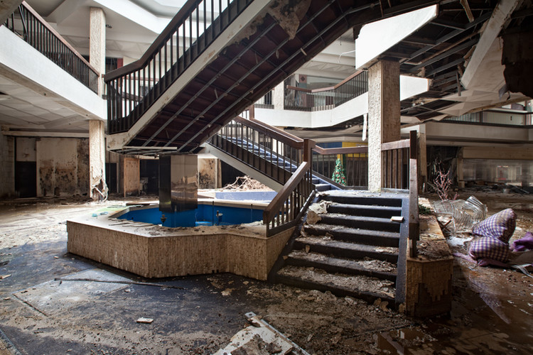 Randall Park Mall | Grimy Stairs