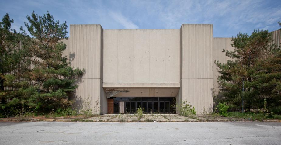 Randall Park Mall _ Concrete Mausoleum