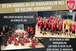 Bliv venskabsklub med KIF Kolding København