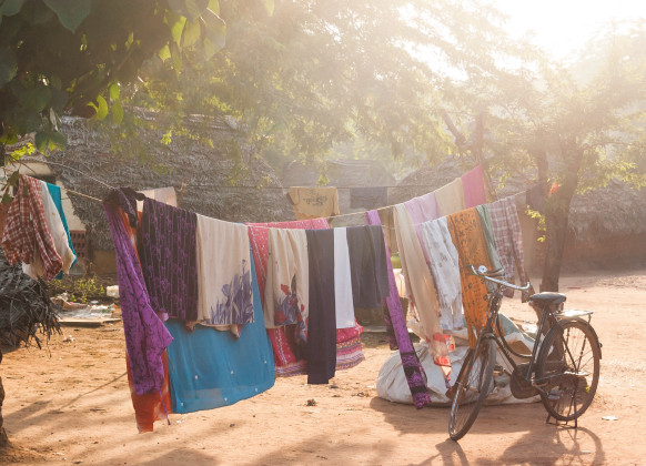 textile recycling hub in india