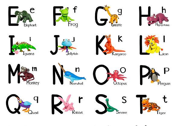 Alphabet Suite - Digital Download - by BrendanKelly