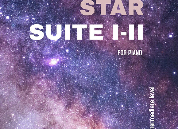Star Suite I and II - Digital Copy for Piano - by Brendan Kelly