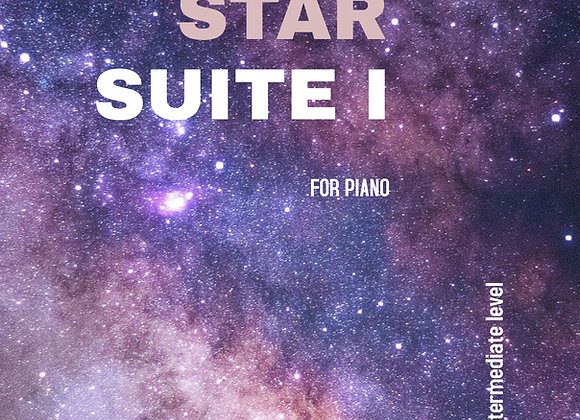 Star Suite I - Hard Copy for Piano - by Brendan Kelly