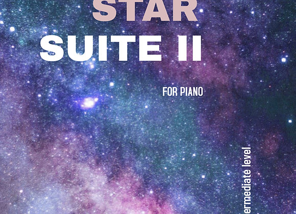 Star Suite II - Hard Copy for Piano - by Brendan Kelly