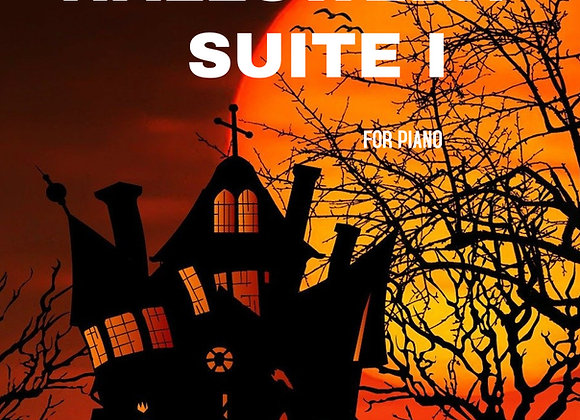 Halloween Suite I - Hard Copy for Piano - by Brendan Kelly