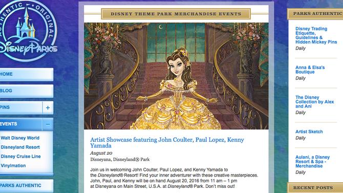 Signing at Disneyland!!