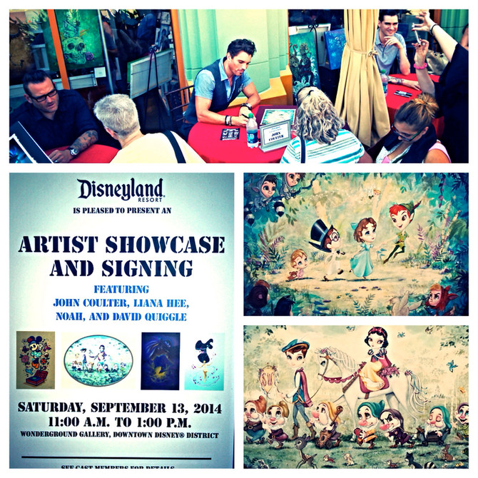 "Introducing my ""Parade"" series at Wonderground Gallery !"