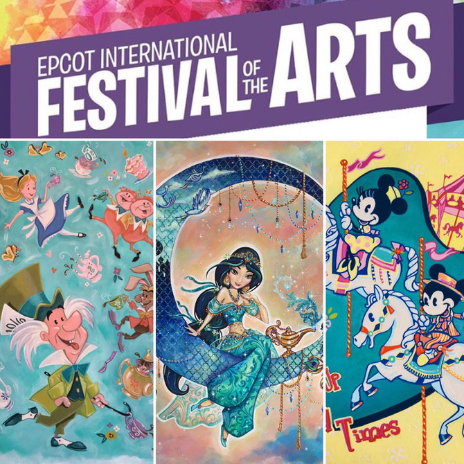 Appearance and Signing at Epcot International Festival of the Arts!