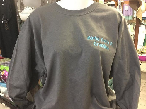 Alpha Delta Pi Sorority Grandmother Shirt - Customizable!