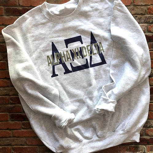 Alpha Xi Delta Greek Bebas Sweatshirt