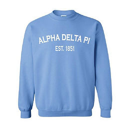 Alpha Delta Pi Established 1851 - Multiple Shirt Styles AND Colors Available!