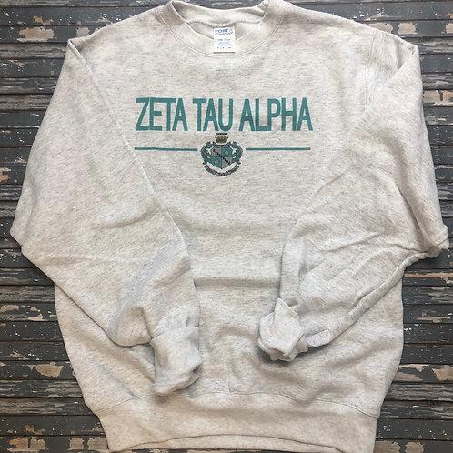Zeta Tau Alpha Classic Crest Sweatshirts and T-shirts