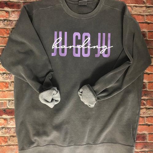 Custom Ju Go Ju Comfort Colors Sweatshirt