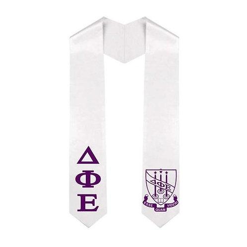 Delta Phi Epsilon Graduation Stole