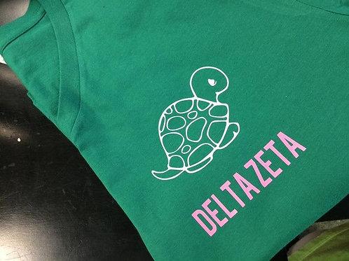 Delta Zeta Turtle Vneck