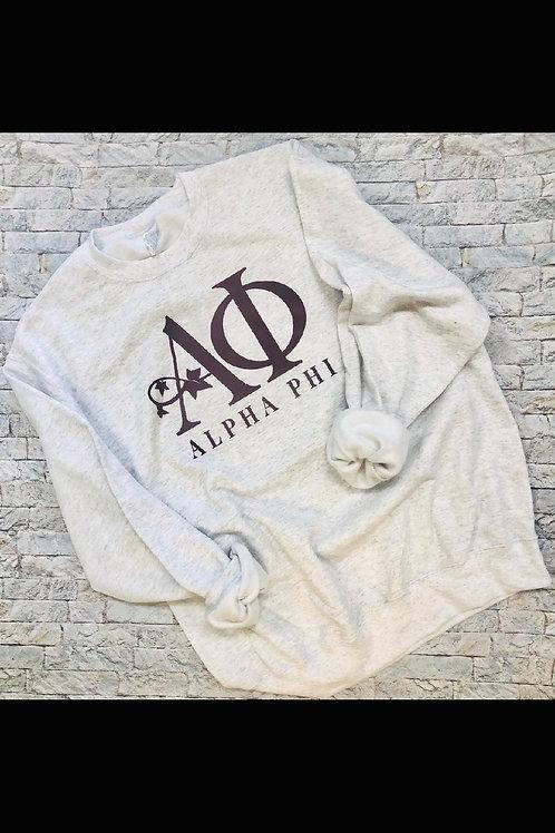 Alpha Phi Crest Sweatshirts and Tshirts