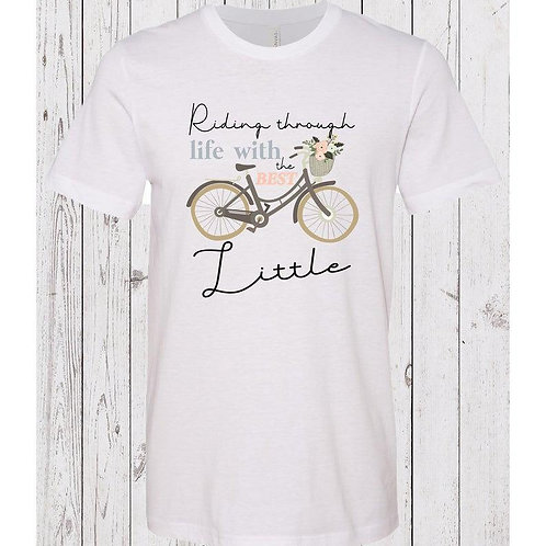 Big Little Sorority Family Shirts - Riding Through Life With The Best Little
