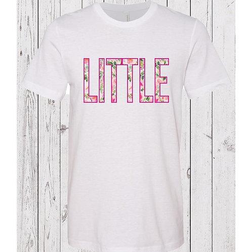 Big Little Reveal - Sorority Shirt - Floral Design