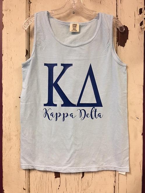 Kappa Delta Magnolia Sky Comfort Colors Shirt