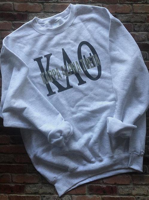 Kappa Alpha Theta Greek Bebas Sweatshirt