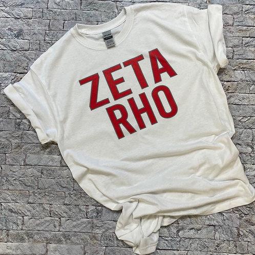 Zeta Rho Stack Bebas Tshirts and Sweatshirts