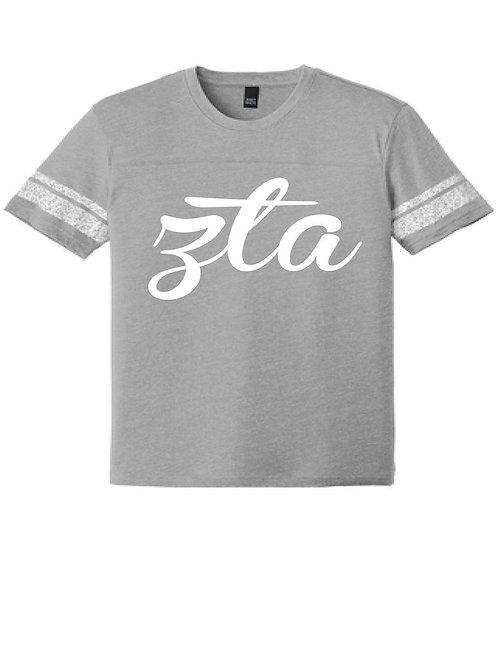 Zeta Tau Alpha District Made Game T Shirt