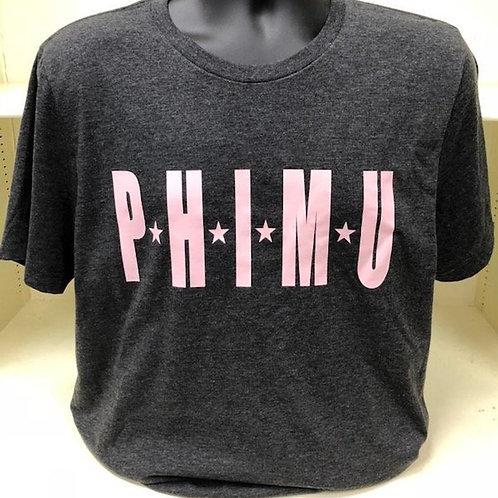 Phi Mu Star Design Tshirt