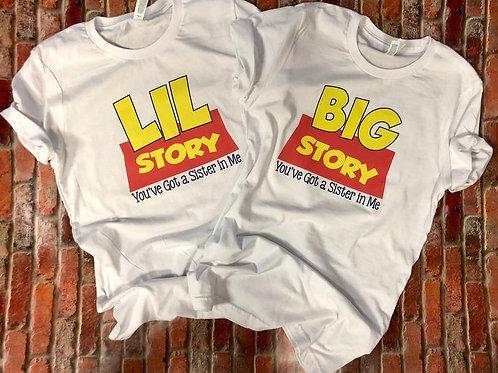 Sorority Big Little Toy Story Tshirts