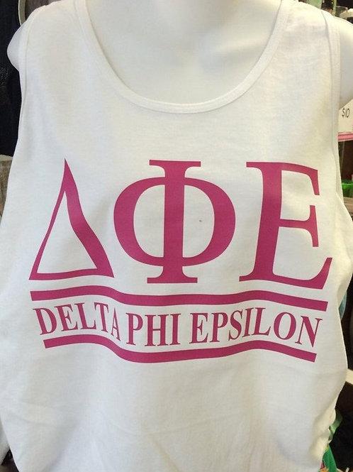 Delta Phi Epsilon Sorority Shirt - 2 Bar Design