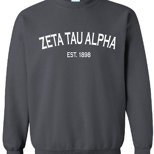 Zeta Tau Alpha Established 1898 Shirt