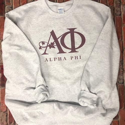 Alpha Phi Logo Sweatshirts and Tshirts