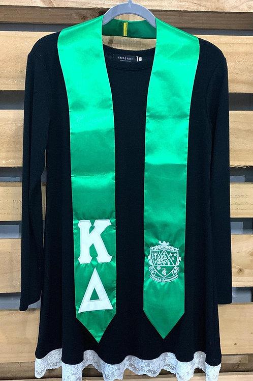 Kappa Delta Graduation Stole