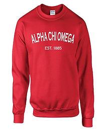 Alpha Chi Omega Established 1885 Shirt