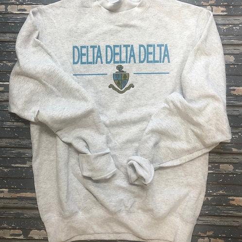 Delta Delta Delta Classic Crest Sweatshirts and T-shirts
