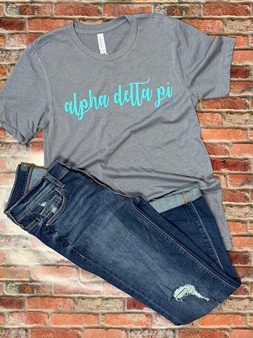 Alpha Delta Pi Sorority T-Shirt
