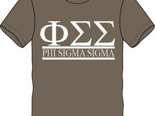 Phi Sigma Sigma Sorority Shirt