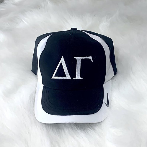 Delta Gamma Embroidered Nike Hat - Greek Letters