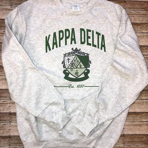 Kappa Delta Crest Sweatshirts and Tshirts