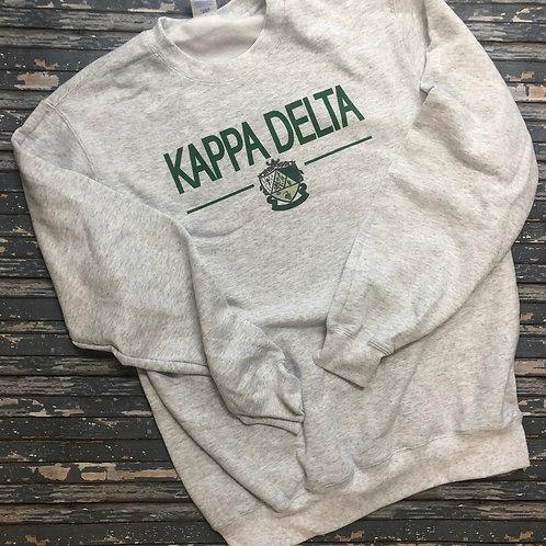 Kappa Delta Classic Crest Sweatshirts and T-shirts