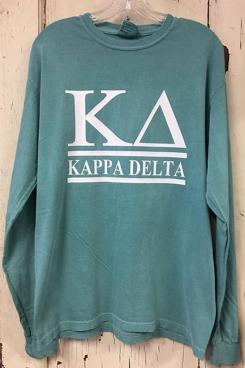 Kappa Delta Sorority Shirt - 2 Bar Design